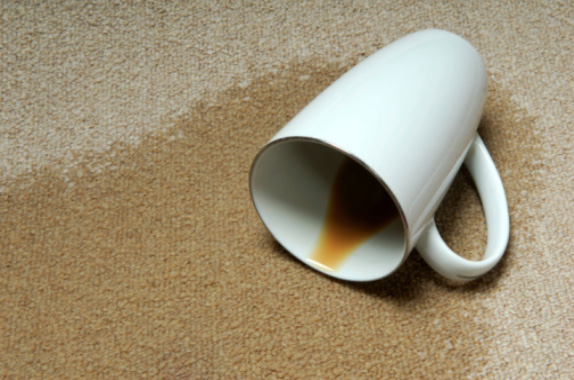Gold Coast Carpet Cleaning coffee stains